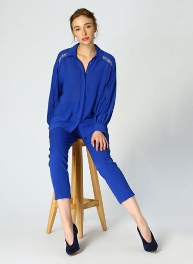 Random Uzun Kollu Gömlek Renkli